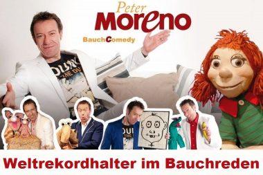 """Peter Moreno – """"BauchComedy – Lachen ist Programm!"""""""