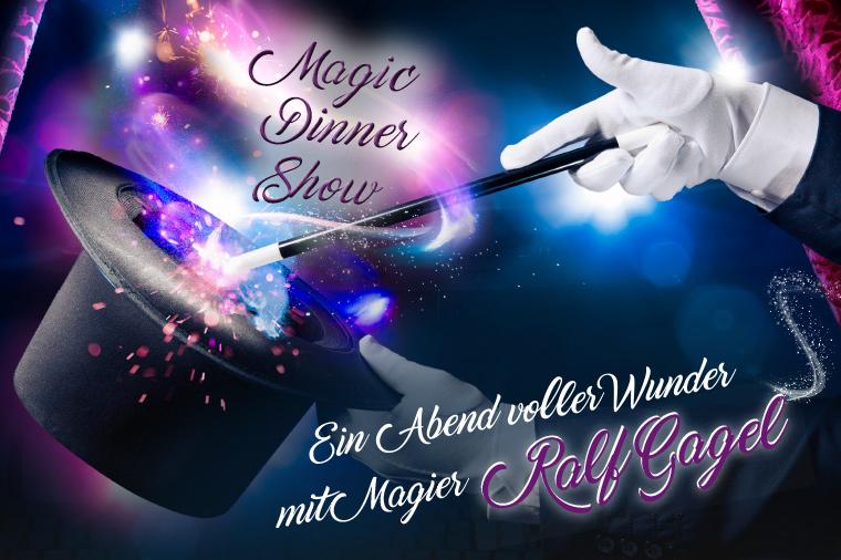 Die einzigartige Magic Dinner Show von Magier Ralf Gagel